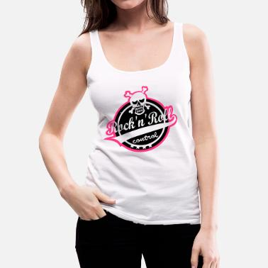 Rockabilly Rock'n'Roll makes me loose control - Frauen Premium Tanktop