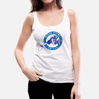 Malediven Ocean Diving - Frauen Premium Tank Top