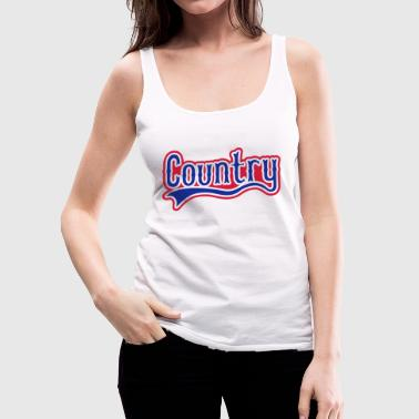 country - Women's Premium Tank Top