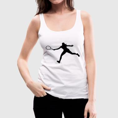 Tennis player, Tennis - Vrouwen Premium tank top