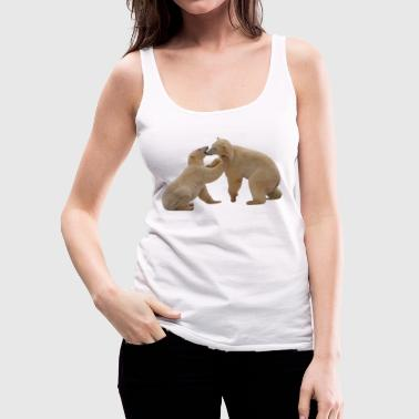 Polar Bear 1 - Women's Premium Tank Top