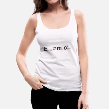 Physik Energy = Milk + Coffee - Frauen Premium Tank Top