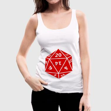 dice - Women's Premium Tank Top