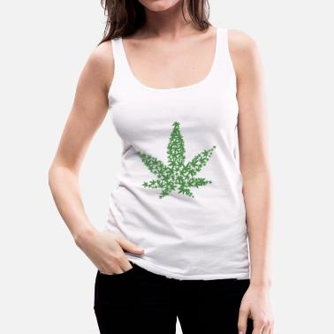 Leaf cannabis leaf - Vrouwen Premium tank top