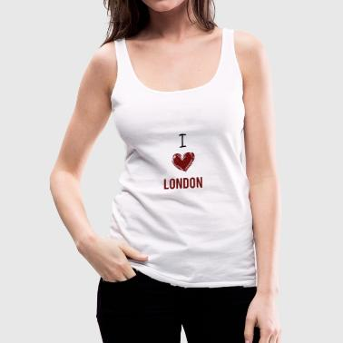 London - I love London - Gift - Women's Premium Tank Top