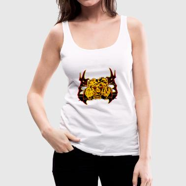 Lion head / lion head shirt - Women's Premium Tank Top
