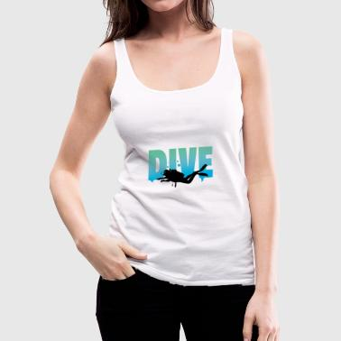 Scuba Dive Diving Sport Lake Sea Dive Out Shirt - Women's Premium Tank Top