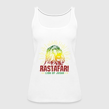 Rastafari Lion Of Judah - Rasta Reggae Jamaica - Women's Premium Tank Top