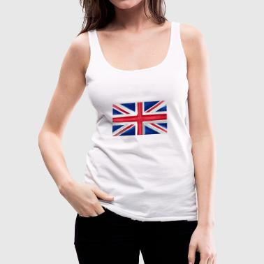 Great Britain Flag Union Jack - Women's Premium Tank Top