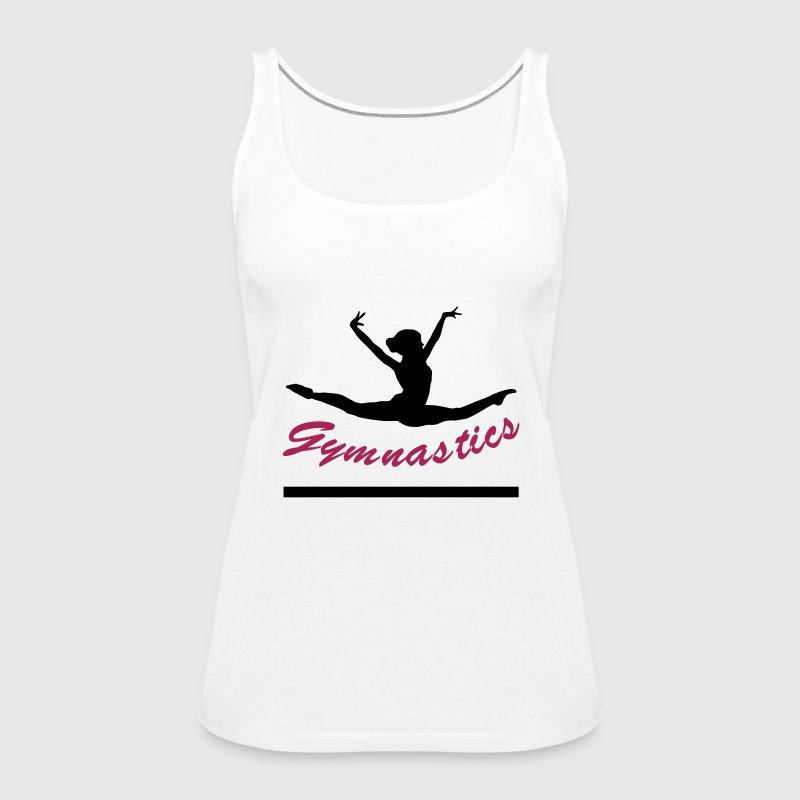 turnerin, turnen, gymnastics - Frauen Premium Tank Top