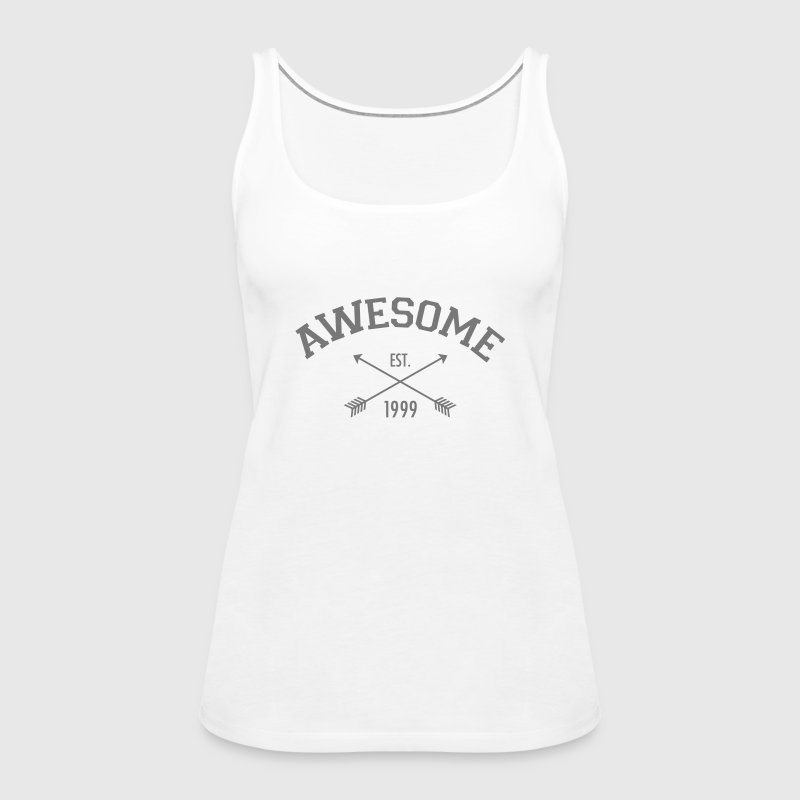 Awesome Est 1999 - Women's Premium Tank Top