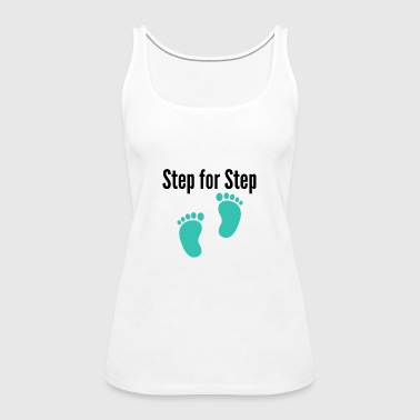 Step by step - Women's Premium Tank Top