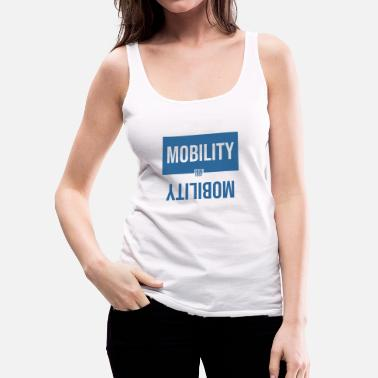Large MOBILITY LARGE - Women's Premium Tank Top