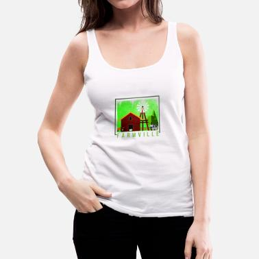 Farming farm - Women's Premium Tank Top