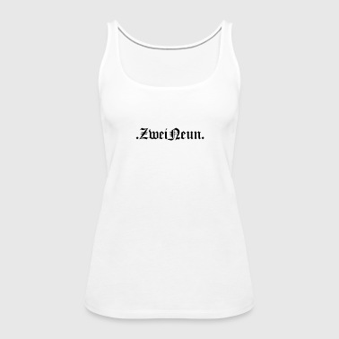 two nine - Women's Premium Tank Top