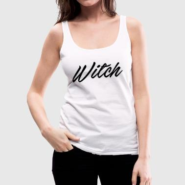 witch - Women's Premium Tank Top
