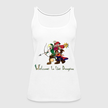 Welcome to the dungeon - Women's Premium Tank Top