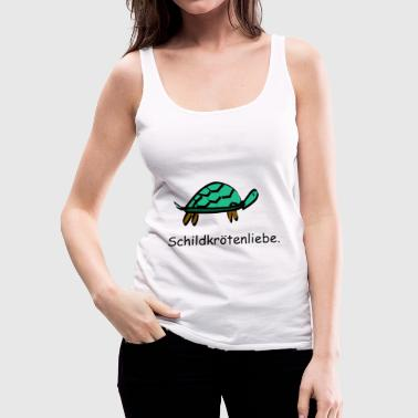 Turtle love turtle tanks love - Women's Premium Tank Top