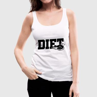 Diet - Women's Premium Tank Top