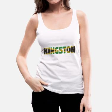 Jamaica Kingston Jamaica - Women's Premium Tank Top