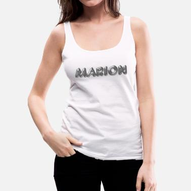 Name Day Marion name first name name day - Women's Premium Tank Top