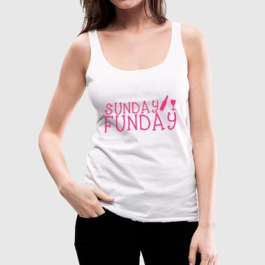Sunday Funday - Women's Premium Tank Top