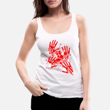 Oktober Attacked by Zombies - Frauen Premium Tank Top