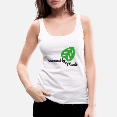 By Vegan Powered by planter siger gave - Premium tanktop dame