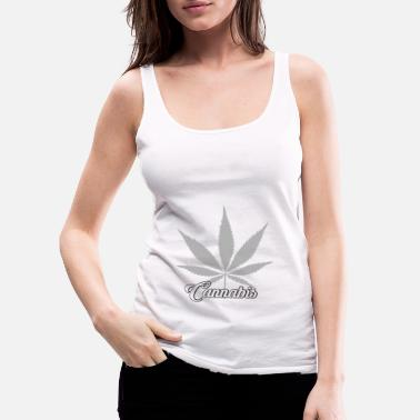 Cannabis Cannabis cannabis leaf - Women's Premium Tank Top