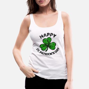 Ireland St. Patricks Day congratulations saying Patty Paddy - Women's Premium Tank Top