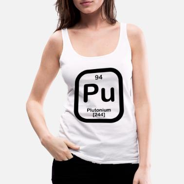 Plutonium plutonium in black - Women's Premium Tank Top
