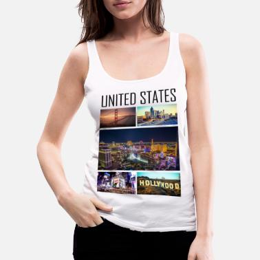 State United States - United States - Women's Premium Tank Top