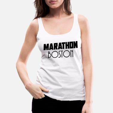 Run Maraton boston - Naisten premium tanktoppi
