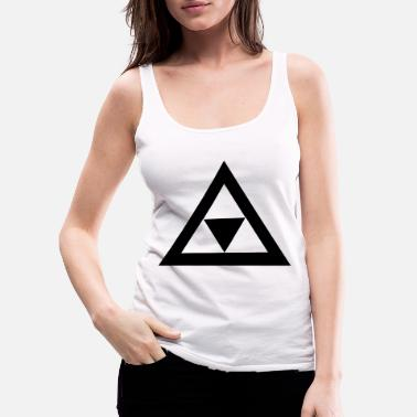 Triangle Triangle in the triangle - Women's Premium Tank Top