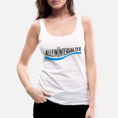 Theme Entertainer - Women's Premium Tank Top