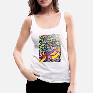 Color Jungle - Vrouwen premium tank top