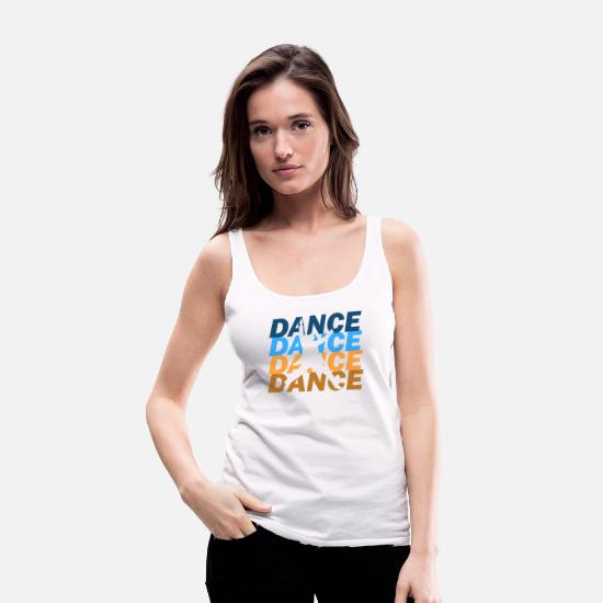 Jumpstyle Tank Tops - dancer - Women's Premium Tank Top white