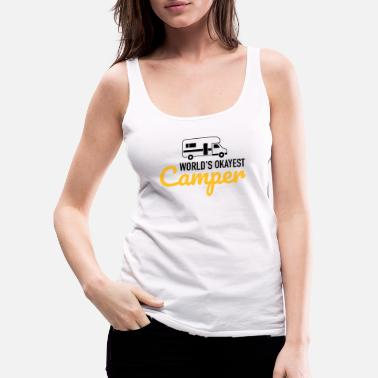 Adventure Camper - Women's Premium Tank Top