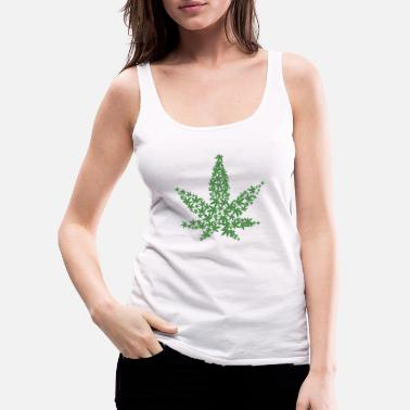 Cannabis Cannabis - Frauen Premium Tank Top