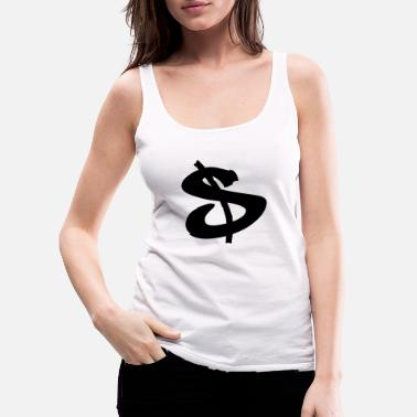 Dollar Sign dollar sign - Women's Premium Tank Top