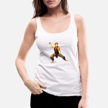 Aikido MARTIAL ARTS TRAINING FIGURE 39 - Dame Premium tanktop
