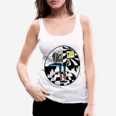 Abstract abstract - Women's Premium Tank Top