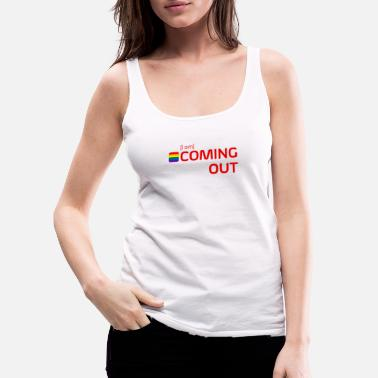 Coming Out [i am] COMING OUT - Frauen Premium Tanktop