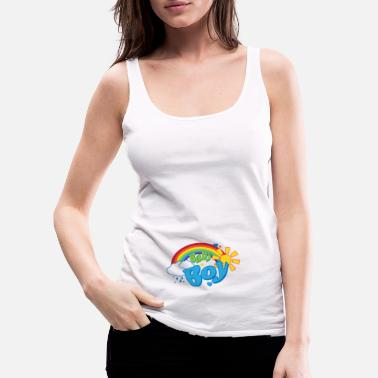 Baby Rainbow Baby Boy - Women's Premium Tank Top