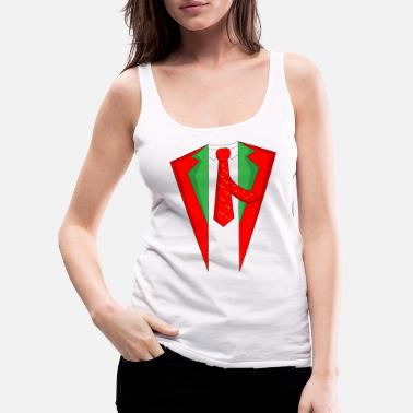 Gsm Suit Christmas Xmas Christmas party - Vrouwen Premium tank top