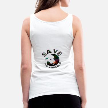 Animal Collection SAVE THE ANIMALS! COLLECTION BY Mikka_ufficiale - Women's Premium Tank Top