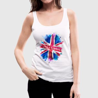 United Kingdom - Women's Premium Tank Top