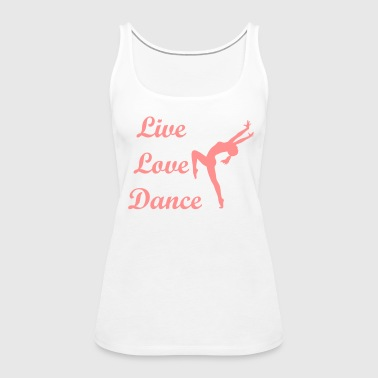 Dance - Frauen Premium Tank Top