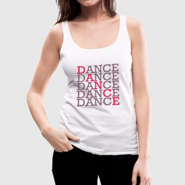 Dancing with two colors - Women's Premium Tank Top