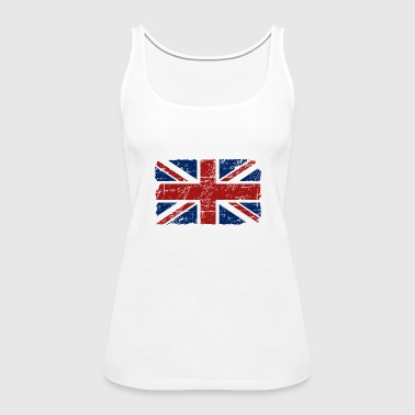 Union Jack - UK - Vintage Look  - Women's Premium Tank Top